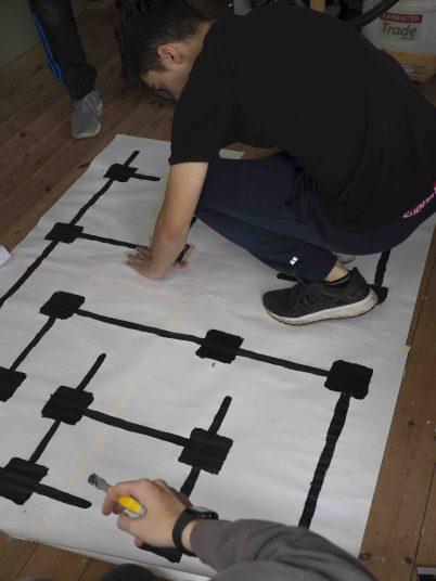 Designing a maze