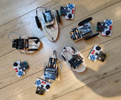 Robots and controllers